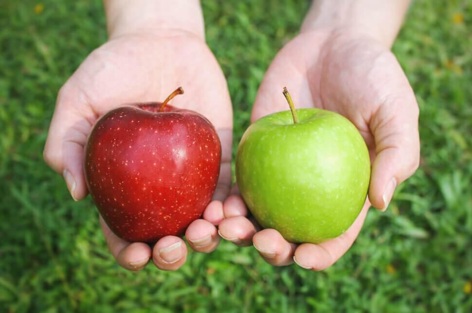 Apel Merah atau Apel Hijau, Mana Yang Lebih Baik Untuk Kesehatan?